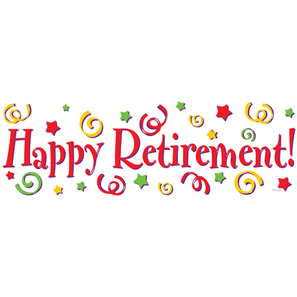 Retirement Banner Clipart .-Retirement Banner Clipart .-8