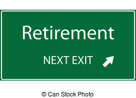 ... Retirement Illustration - Illustrati-... Retirement Illustration - Illustration of a green Retirement.-18
