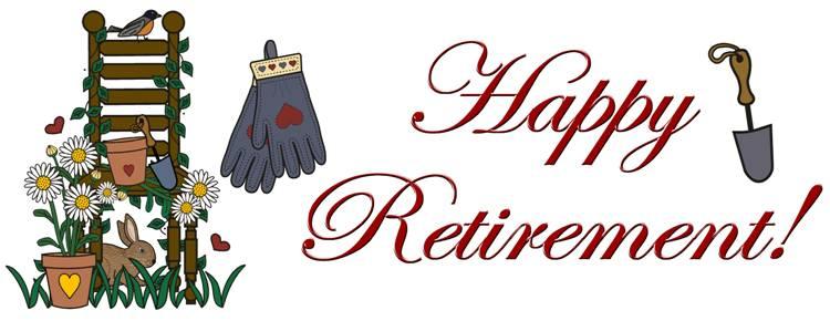 Retirement party invitation clipart clipartcow