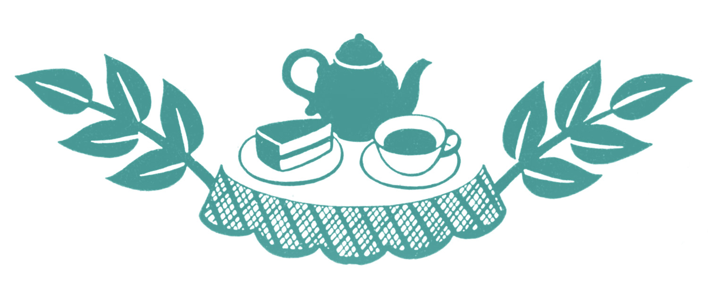 Retro Clip Art Tea Time Silhouettes The -Retro Clip Art Tea Time Silhouettes The Graphics Fairy-11