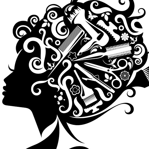 Retro Hair Stylist Clipart #1