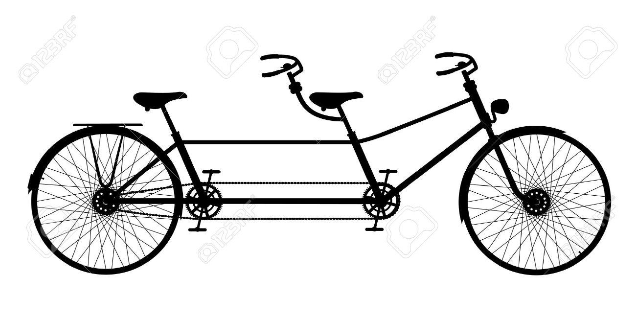 Retro Tandem Bicycle (bike-retro tandem bicycle (bike-6