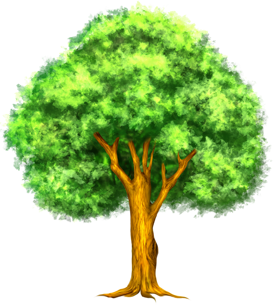 Retro Tree Clipart Clip Art-Retro tree clipart clip art-12