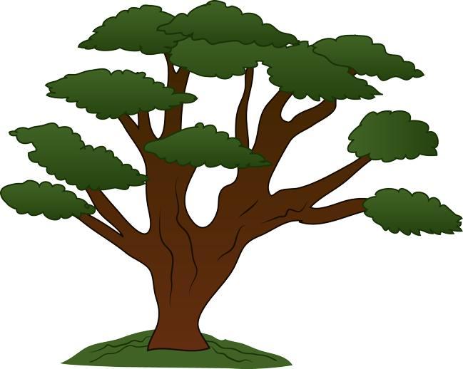 Retro tree clipart clip art vintage trees clip art clipart image 4