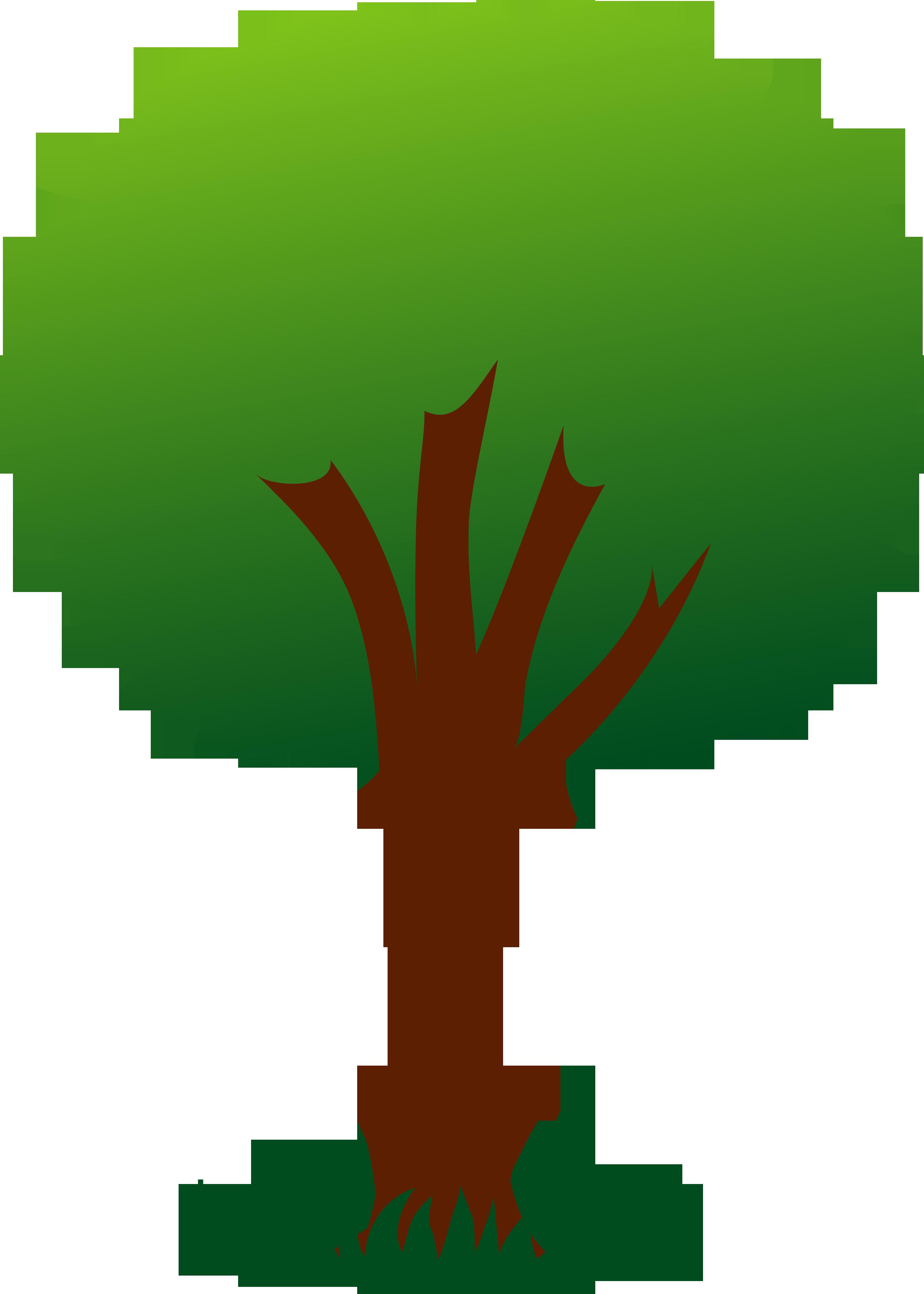 Retro tree clipart clip art vintage tree-Retro tree clipart clip art vintage trees clip art clipart-3