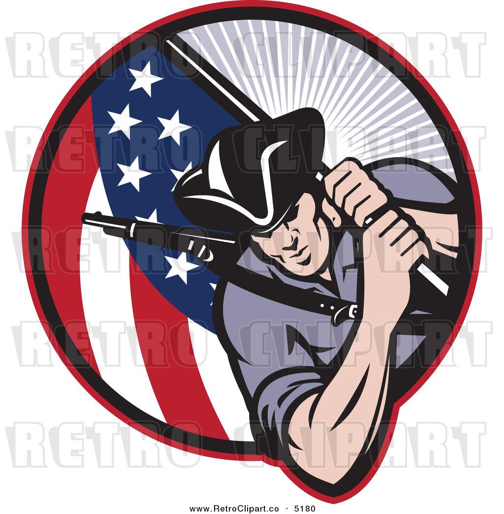 Revolutionary soldier clip art - ClipartFox