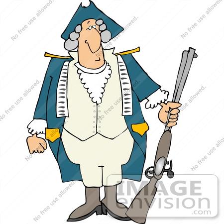 Revolutionary War Soldier .