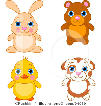 Rf Cute Animals Clipart Clipart Panda Free Clipart Images
