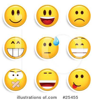 (RF) Emoticons Clipart .-(RF) Emoticons Clipart .-7