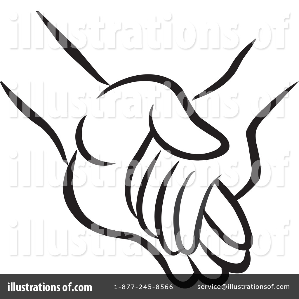 (RF) Holding Hands Clipart .