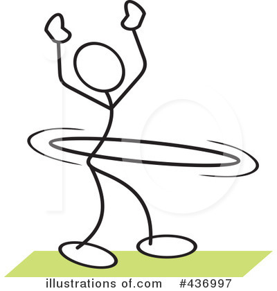 (RF) Hula Hoop Clipart .
