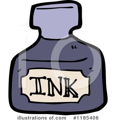 (RF) Ink Bottle Clipart .-(RF) Ink Bottle Clipart .-10