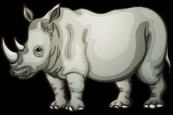 rhino clipart-rhino clipart-0