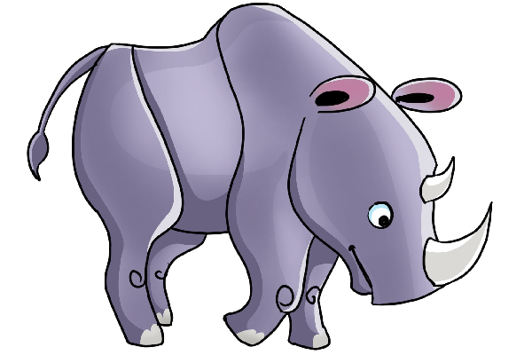 Rhino Clipart 7770119 Png