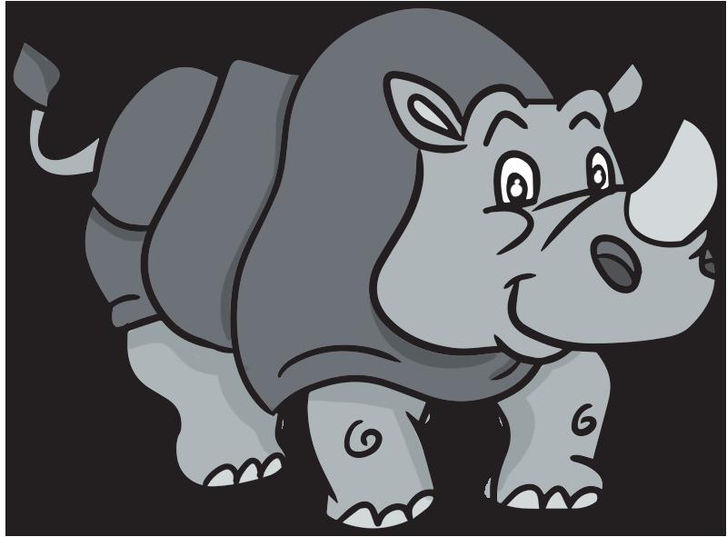 rhinoceros clipart -rhinoceros clipart -13