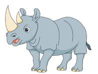 rhinoceros anima. Size: 64 Kb