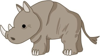 rhinoceros clip art #3-rhinoceros clip art #3-11