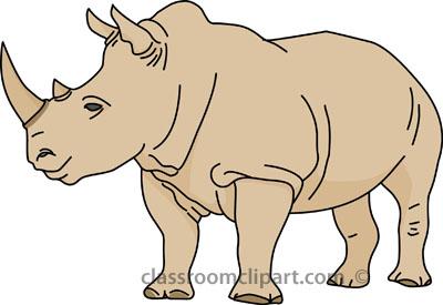 rhinoceros clipart #9-rhinoceros clipart #9-12