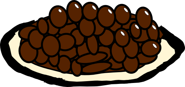 Rice And Beans Clipart