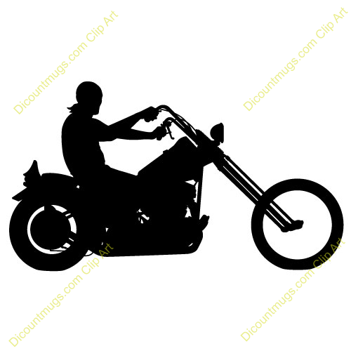 motorcycle clipart - Rider Clipart