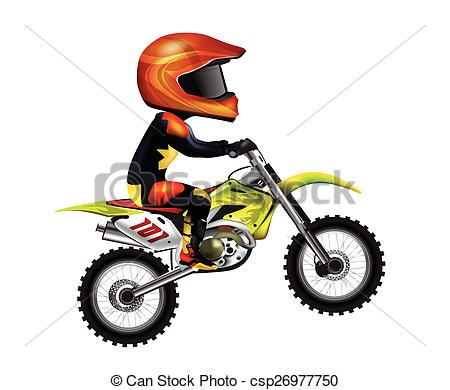 Motorcycle Rider - csp26977750