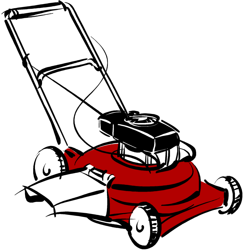 Riding lawn mower clipart fre - Lawn Mowing Clip Art