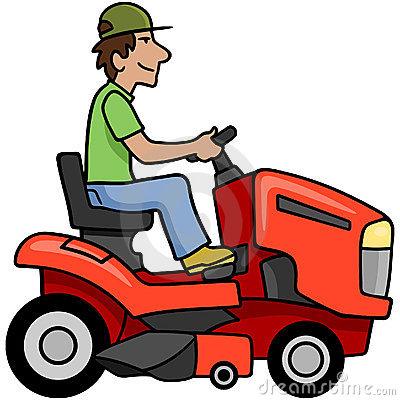 Riding Mower Clipart #1