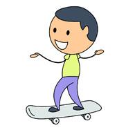 riding skateboard kneeling. Size: 64 Kb-riding skateboard kneeling. Size: 64 Kb-13