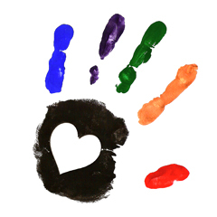 Right Hand Print Clip Art; Hand-print-cl-Right Hand Print Clip Art; hand-print-clipart5.gif; Suttons Bay Congregational   Suttons Bay, MI 49682 ...-14