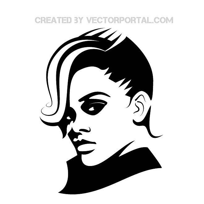 Rihanna Image Free Vector