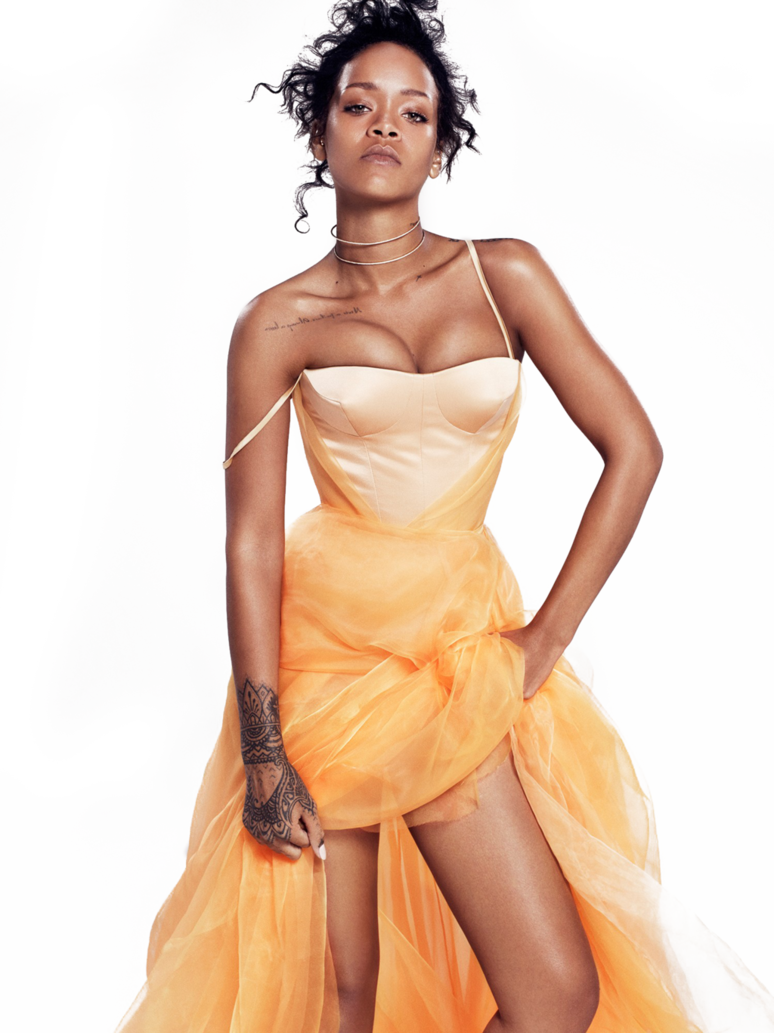 Rihanna png by ChebotulyaBaz ClipartLook.com