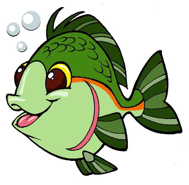 Riktoonz Cartoonist Caricaturist Rick C Moore Fish Clip Art