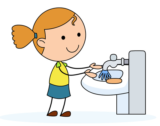 Rinse Hands Clip Art Girl Washing Hands -Rinse Hands Clip Art Girl Washing Hands In A Sink-12