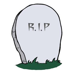 ... Rip grave clipart ...
