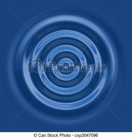 A Top Down View Of The Rings Of A Water -a top down view of the rings of a water ripple-2