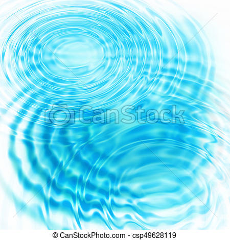 Abstract Blue Circular Water Ripples - C-Abstract blue circular water ripples - csp49628119-4