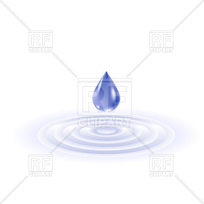 Falling Water Drop And Ripples, 8537, Do-Falling water drop and ripples, 8537, download royalty-free vector vector  image ClipartLook.com -12