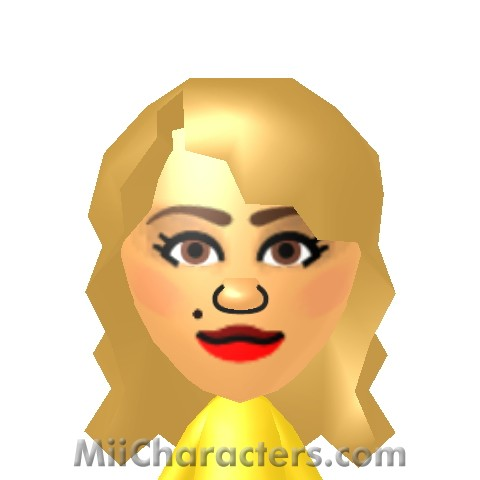 Rita Ora Mii Image by spaceydust