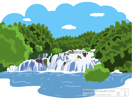 waterfall: Image with .