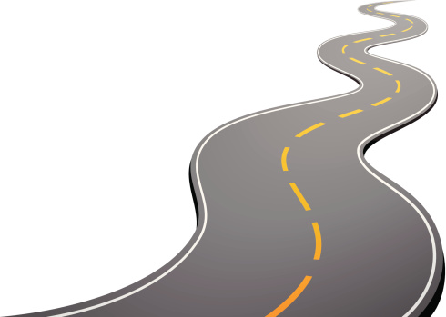 Road Vector Art Illustration-Road vector art illustration-6