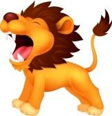 roaring lion head clip art