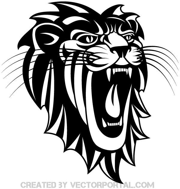 Roaring Lion Clip art