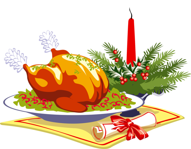 Roast Dinner Clipart