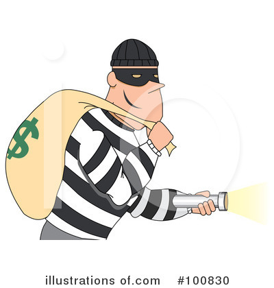 Robber Clipart 100830 Illustration By Mh-Robber Clipart 100830 Illustration By Mheld-10