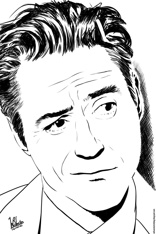 Robert Downey Jr Clipart