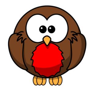 Robin Clip Art. Cartoon Robin-Robin Clip Art. Cartoon Robin-4