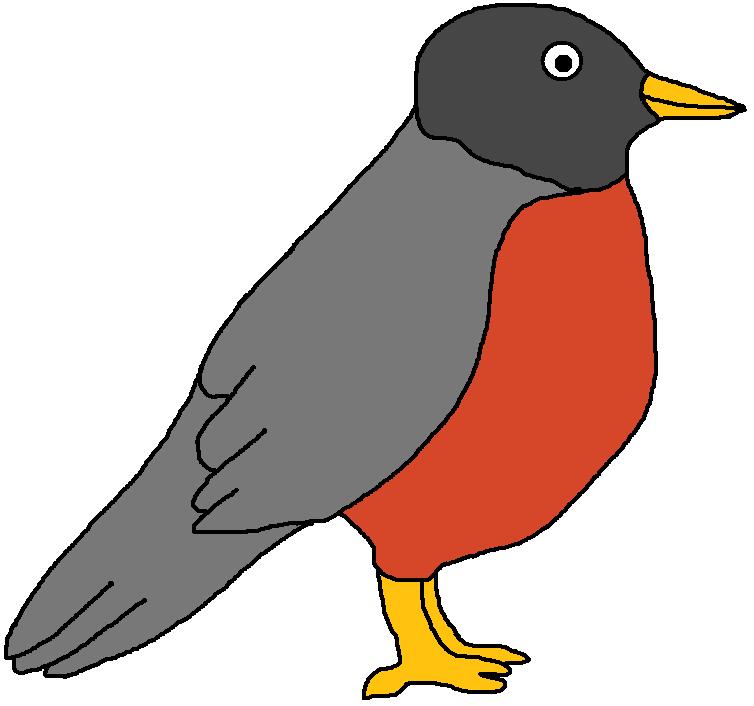 Robin Clipart-Clipartlook.com-754