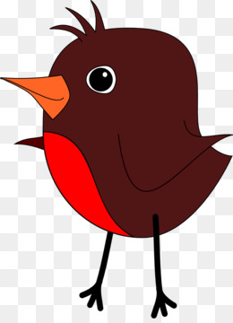 Bird American robin Clip art - Robin Cliparts png download - 880*1200 -  Free Transparent European Robin png Download.
