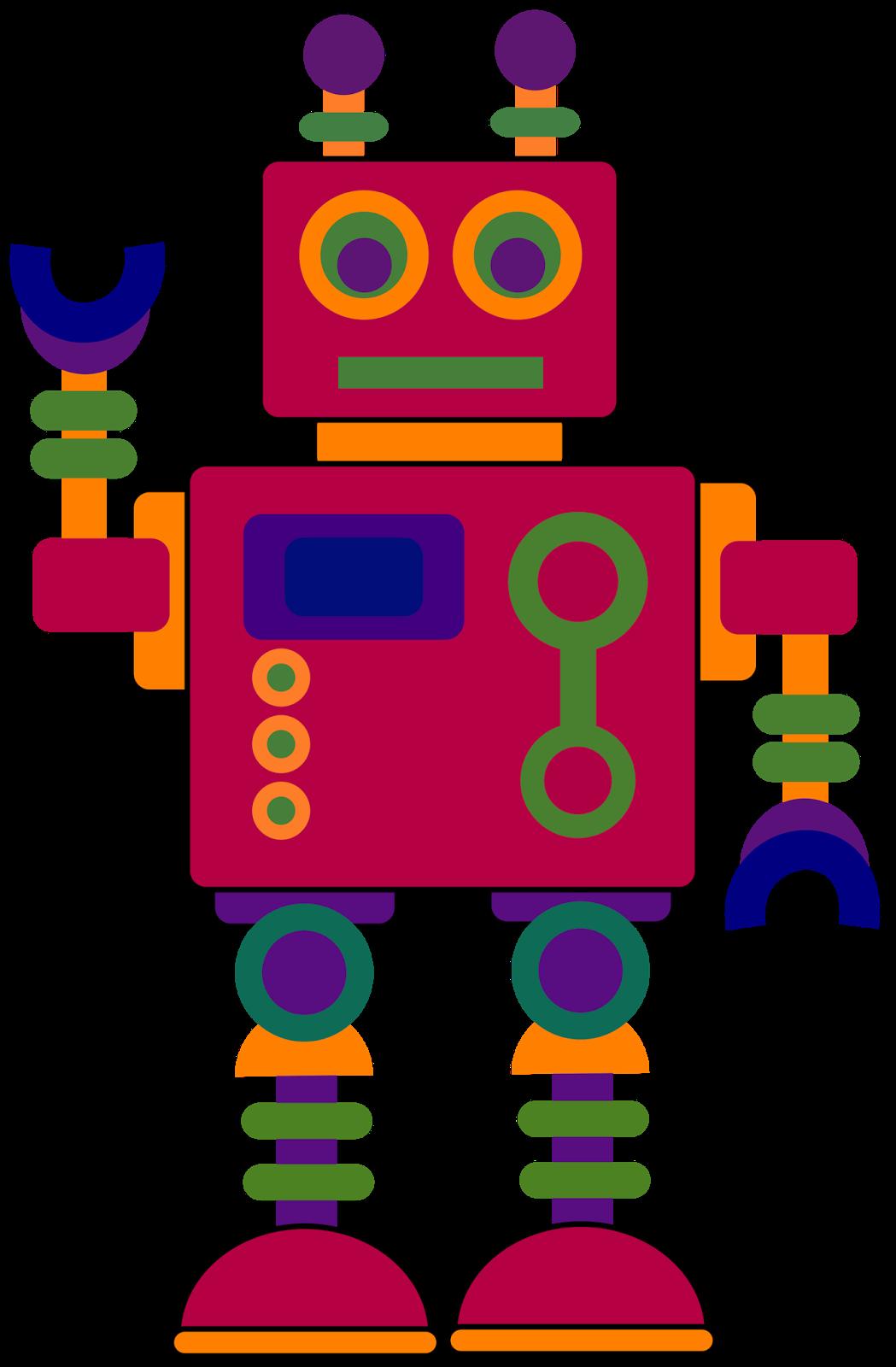 Robot clip art clipart image