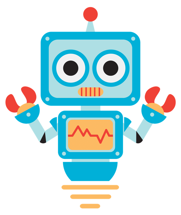Robot clipart image